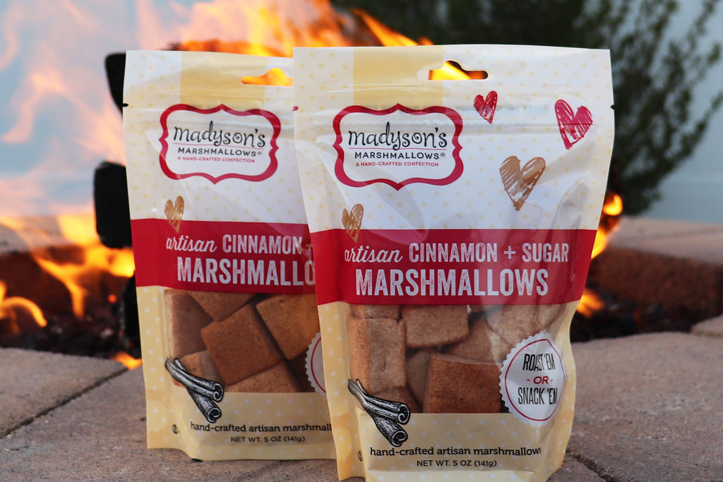 cinnamon sugar marshmallows - gourmet marshmallows - Madyson's Marshmallows