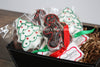 Basket of Assorted Christmas Marshmallow Pops 3.5