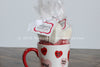 Hot Chocolate Cone Gift Set in a Holiday Mug