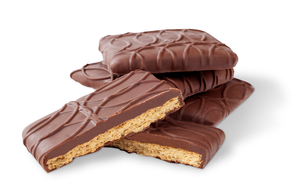 Original Milk Chocolate Covered Graham Crackers - Jo's Candies