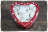 Mini Marshmallows in a Heart Tin