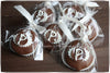 Monogrammed Chocolate Dipped Marshmallows
