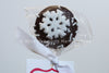 Snowflake Marshmallow Pop
