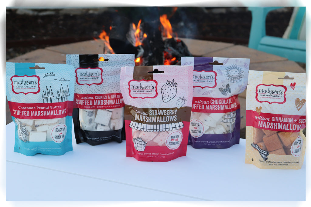 Assortment of Marshmallow Snack Pouches - {5PK}