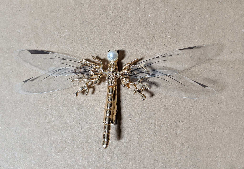 """Oneida"" Dragonfly Hair Barrette"