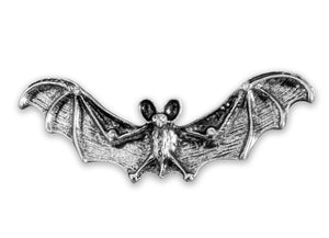 """Bianca"" <BR>Art Nouveau Style Flying Bat Brooch"