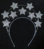 """Celesta"" Old Hollywood Style Starburst Halo Crown"