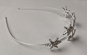 """Delaney"" Rhinestone Star Headband"