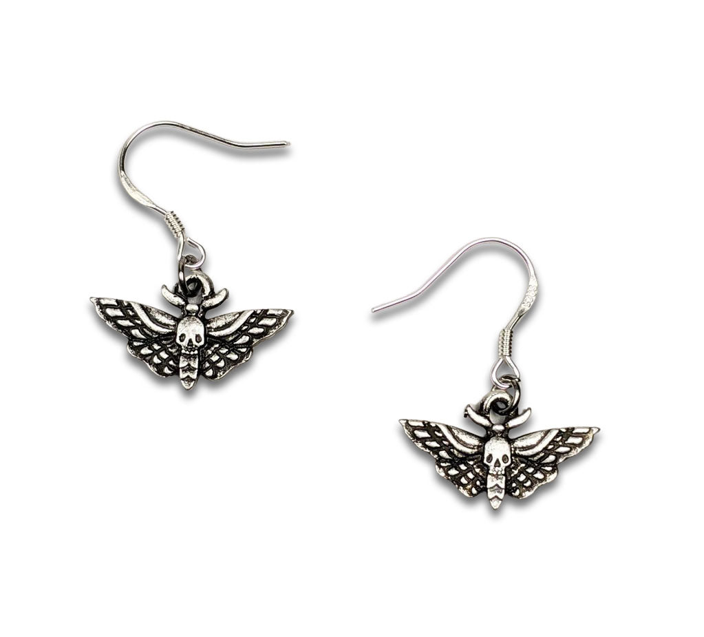 """Dana"" Moth Earrings"