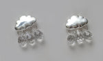 """Nimbus"" Rain Cloud Earrings"