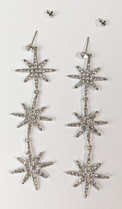 """Reese"" <BR>Starburst Dangle Earrings"