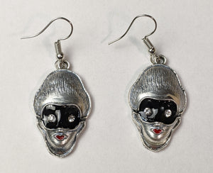"""Venetian"" Masked Lady Earrings"