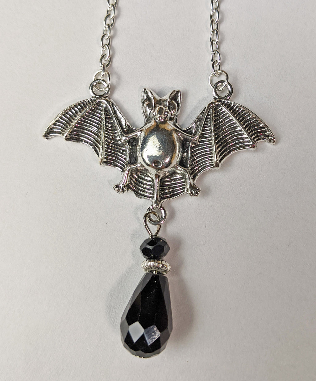 """Sorrell"" <BR>Bat Necklace"