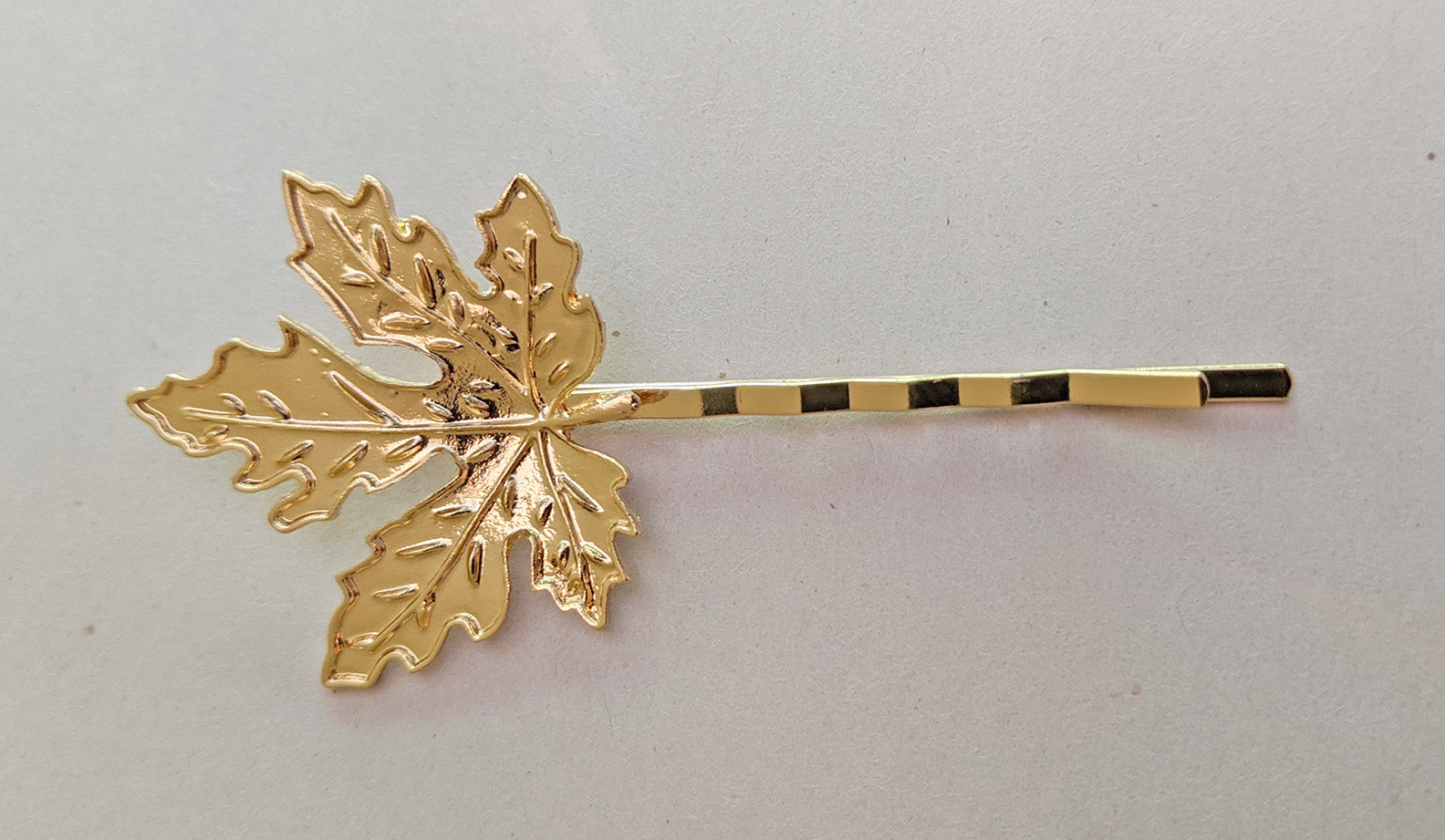 """Coventina"" Leaf Hair Pin"