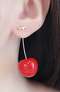 """Rylee"" Cherry Earrings"