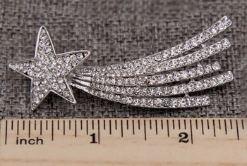 Cassiopeia Shooting Star Brooch