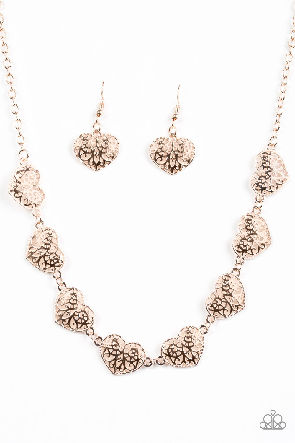 Easy To Adore Rose Gold Necklace Glamour And Glitz By Peggy Andersen