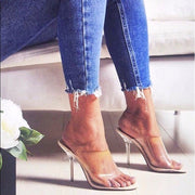Transparent mules