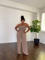 Tamra Tube-Top Jumpsuit