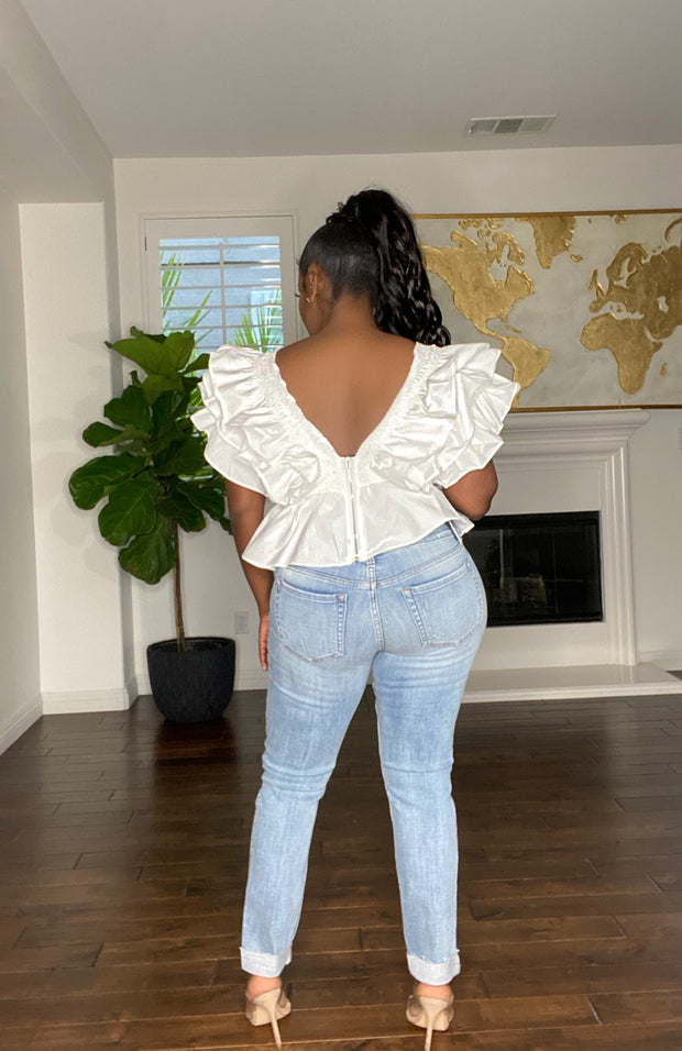 Ruffle Me up Top