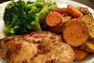 Chicken Breast and Sweet Potatoes