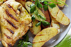 Chicken Breast and White Potatoes