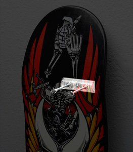Sk8ology Single Display with Drill Bit in Display Box - Hang your Skate Deck