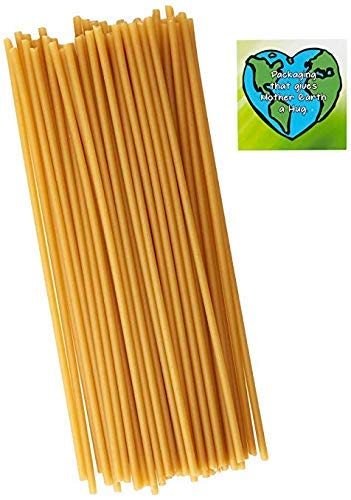 Ecostraws - Straws From Pasta - Eco Friendly - Thin Size - Jumbo Pack - 120 count