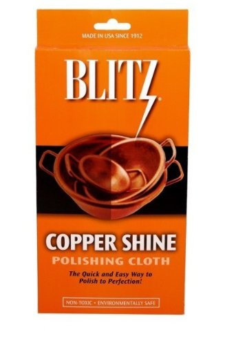 Blitz Copper Shine Polishing Cloth