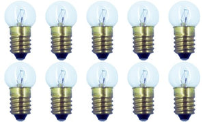 CEC Industries #428 Bulbs, 12.5 V, 3.125 W, E10 Base, G-4.5 shape (Box of 10)