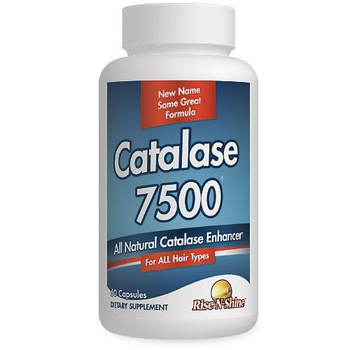 Catalase 7500 Catalase Enzyme Hair Supplement for Men and Women 60 Count
