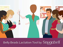 Belly Beads Visual Teaching Tool for Lactation Consultants, Doulas, Midwives, Doctors, Nurses and Educators