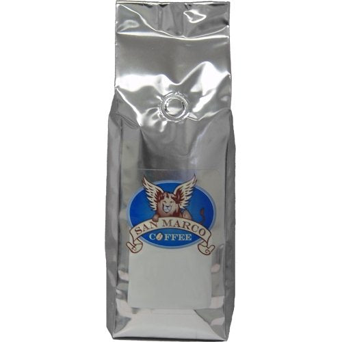 San Marco Coffee Flavored Whole Bean Coffee, Strawberry Shortcake, 1 Pound