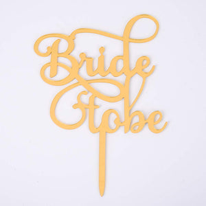 Bride Cake Topper, Bride to Be, Wedding Cake Topper, Gold Bride and Groom Cake Topper, Wedding Decorations Wedding-33