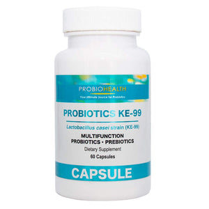 Probiotics 6 Billion CFU - Probiotics for Women, Probiotics for Men, KE-99 has undergone extensive researches and Clinical validations, 60 Capsules