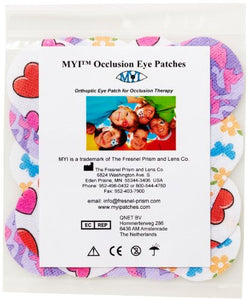 MYI Girls #1 Eye Patches - Junior Size (51 Per Package)