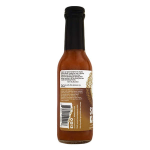 Smokey Karma Hot Sauce | Smokey Chipotle With A Touch Of Heat | No Preservatives, Vegan, Extract Free, Sugar Free, Paleo / Keto Friendly | Made In Finger Lakes, USA | 5 fl. oz bottle