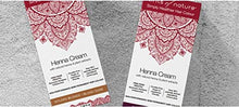 Tints of Nature Henna Cream Burgundy | Semi Permanent Hair Dye Kit | Vibrant Burgandy Hair Colour | Made From Natural Henna & Plant Extracts | Vegan Friendly | 70ml / 2.46 fl oz