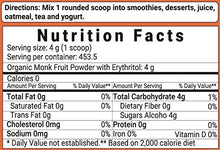 Organic Monk Fruit Sweetener with Erythritol, 4 Pounds (64 Ounce), Best Natural Sweetener for Smoothie, Drinks, Coffee, Tea, Cookies and More, Non-GMO and Vegan Friendly