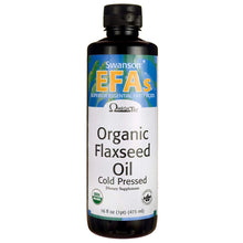 Swanson Flaxseed Oil (Omegatru) 16 fl Ounce (1 pt) (473 ml) Liquid 1