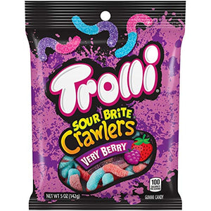 Trolli Gummy Fruit Variety Candy, Pack of 8
