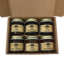 Kitchen Kettle Village Jam Sampler (Amish Made) 6-pack Variety Sampler of Jams and Jellies, 1.5 Ounce Jars [1 of each flavor]