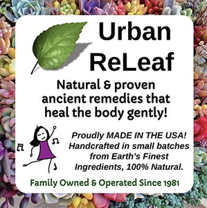 Urban ReLeaf Lemon Balm & Zinc Oxide Blister Relief Salve ! Fast 100% Natural Remedy! Cold Sores, Shingles, Rashes, Molluscum, Chicken Pox Bumps. Suppress future outbreaks. For lips and delicate skin.