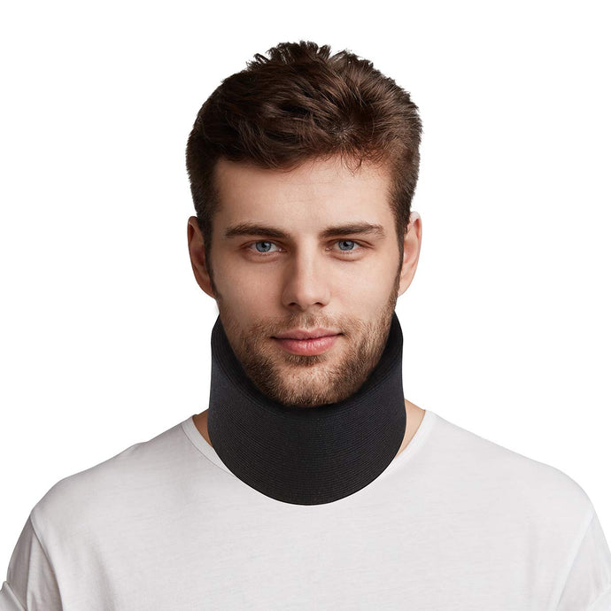 ROSENICE Neck Brace - Cervical Collar Super Soft, Adjustable - Traction Equipment Neck Support Rehabilitation Wear for Sleeping - Relieves Pain and Pressure in Spine