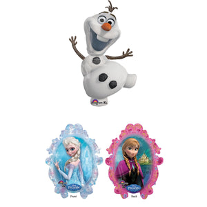 Olaf Supershape XL and Frozen Sister Supershape XL Pair (1) 1