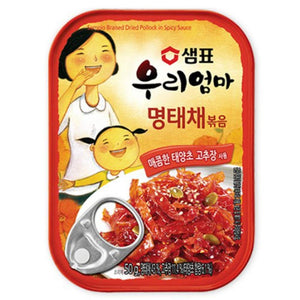 [Sempio]My Mother Stir-fried Dried and Shredded Pollack in Spicy Sauce - Korean Food Banchan Korean Side Dishes Instant Food