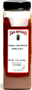1-Pound Premium Ground Ancho Chile Pepper Chili Powder