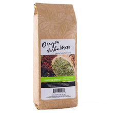 Oregon Yerba Mate Loose Leaf Tea, Healing Blend [Peppermint, Ginger, Cinnamon, Licorice, Cayenne Pepper], Organic Alkaline Caffeine. 16 Ounce Bag
