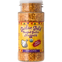 USDA Organic Garlic Gold Nuggets, Roasted Garlic Seasoning Granules, Sodium Free no MSG Free, Vegan Keto Paleo Friendly Food, 2.1 Oz Jar (Pack of 3) Crunchy Garlic