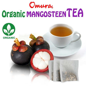 OMURA NATURAL MANGOSTEEN Peel Herbal Tea, the richest nutrient and antioxidant fruits (Pack of 20)